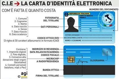 CARTA IDENTITA ELETTRONICA CIE - Comune di Melicucco